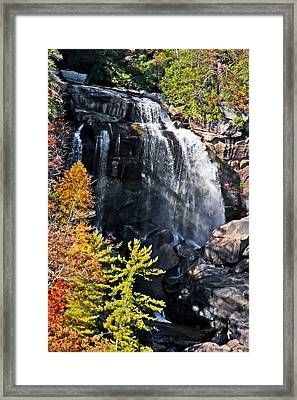 Nc Waterfalls Framed Print