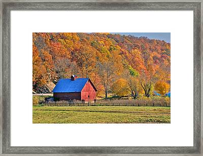 Near Bedford Indiana Framed Print