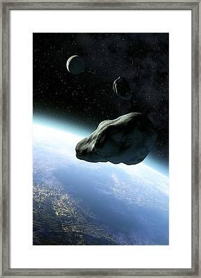 Near-earth Objects, Artwork Framed Print by Take 27 Ltd
