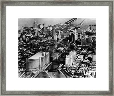 Near North Side, Chicago, The Chicago Framed Print