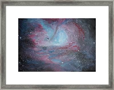 Nebula 2 Framed Print by Siobhan Lawson