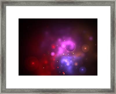 Nebula Framed Print by Steve K