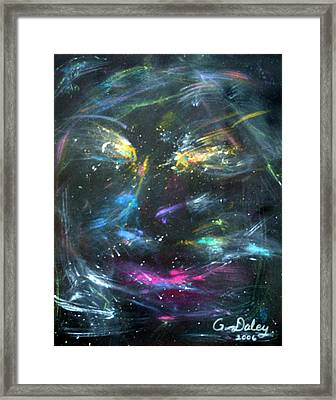 Nebula's Face Framed Print by Gail Daley