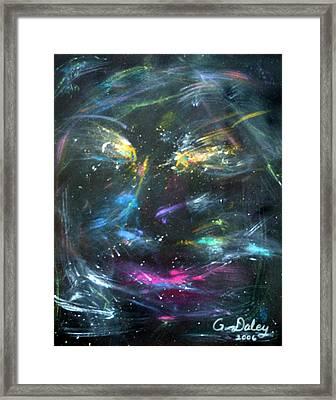 Nebula's Face Framed Print