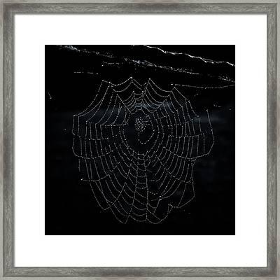 Necklace For Valentine Framed Print