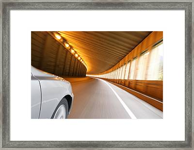 Framed Print featuring the photograph Need For Speed by JM Photography