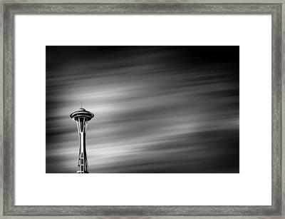 Needle In The Sky Framed Print