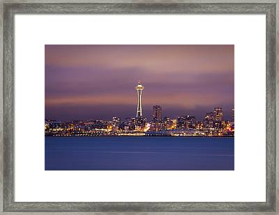 Needle Point Framed Print by Jonathan Ellison