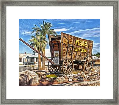 Needles California Framed Print by Gregory Dyer