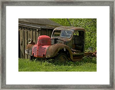 Needs Work Framed Print