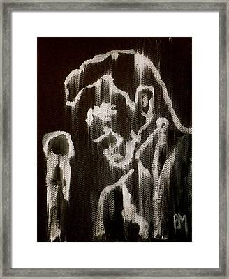 Negative Streak Framed Print by Pete Maier
