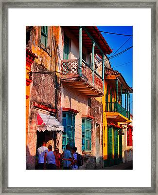 Negocio Framed Print by Skip Hunt