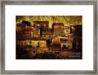 Neighbourhood Framed Print by Andrew Paranavitana