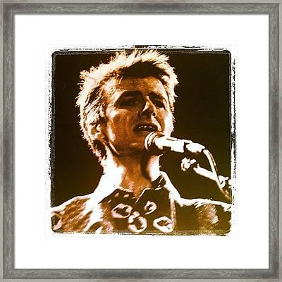 Neil Finn Framed Print
