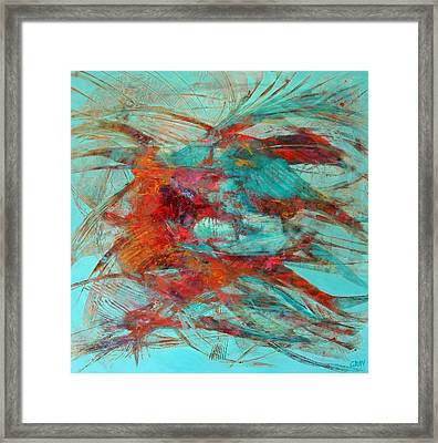 Neither Fish Nor Fowl Framed Print by Gray Jacobik