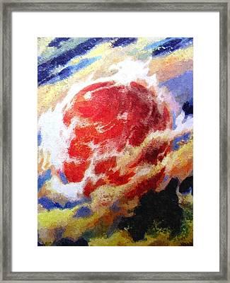 Nemesis Star  Framed Print by Goldy Parazi