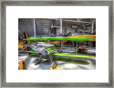 Neon Green Framed Print