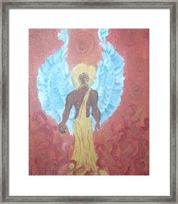 Nephilim Framed Print by Violette Meier