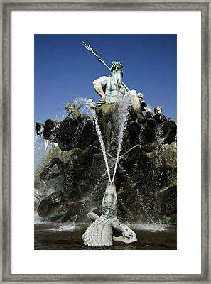 Neptune Fountain Framed Print by RicardMN Photography