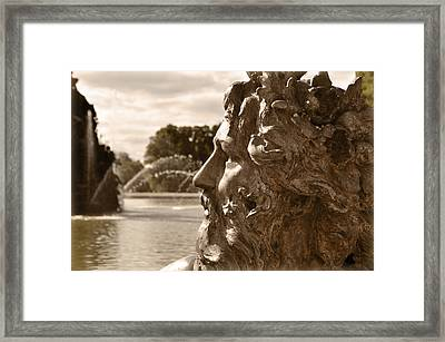 Neptune Framed Print by Mary Machare