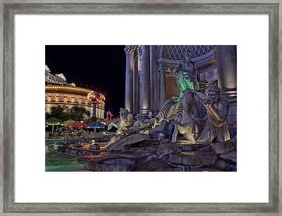 Neptune Framed Print by Stephen Campbell