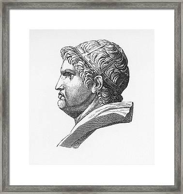 Nero (37-68 A.d.) Framed Print by Granger