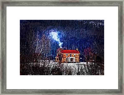 Nestled In For The Winter Framed Print by Randall Branham