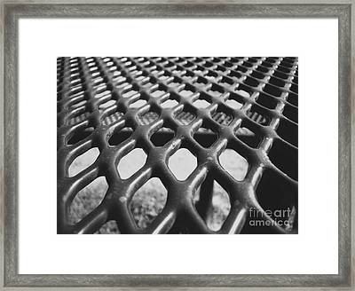 Framed Print featuring the photograph Net by Andrea Anderegg