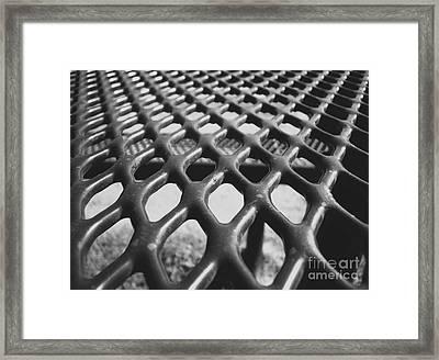 Net Framed Print by Andrea Anderegg
