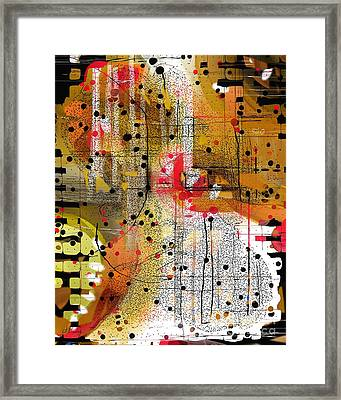Networking Framed Print