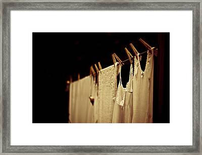 Never Forget You Framed Print
