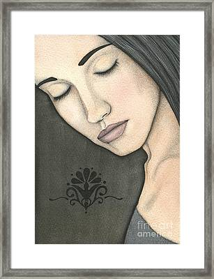 Nevermind Framed Print by Nora Blansett