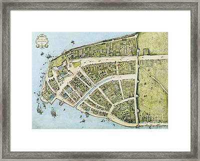 New Amsterdam Framed Print by Pg Reproductions