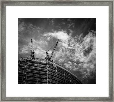 New Buildings Framed Print