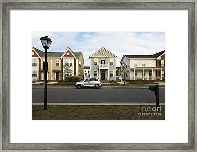 New Construction Home Framed Print