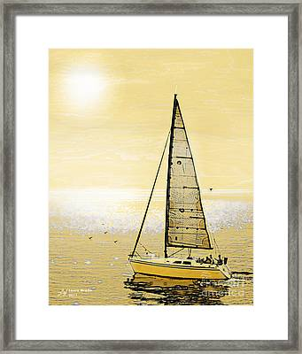 New Dawn Framed Print by Artist and Photographer Laura Wrede