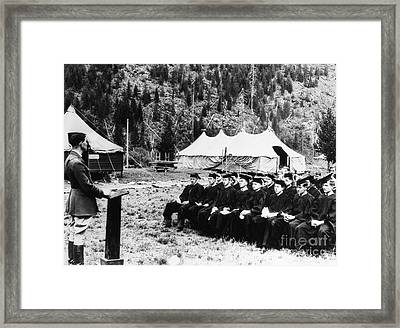 New Deal: C.c.c., 1936 Framed Print by Granger