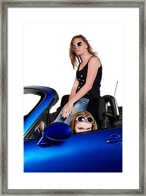 New Drivers Framed Print