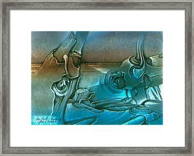 New Earth1 1992 Framed Print by Glenn Bautista