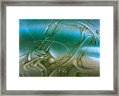 New Earth2 1992 Framed Print by Glenn Bautista