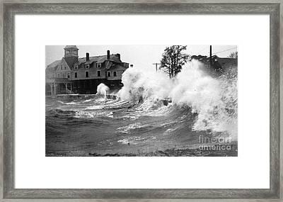 New England Hurricane, 1938 Framed Print