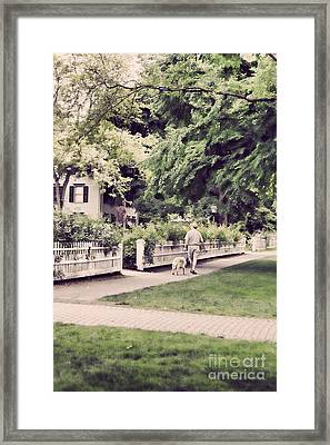 New England Scenic Framed Print by HD Connelly