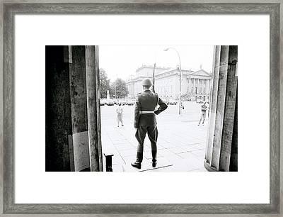 New Guard House Framed Print
