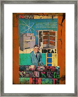 New Idea Framed Print by Adam Kissel