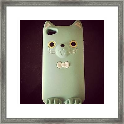 #new #iphone #case #4s #iphonesia #cute Framed Print