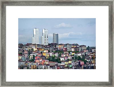 New Istanbul Framed Print by Cheminsnumeriques