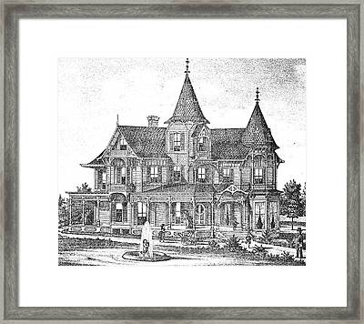 New Jersey: Atwood House Framed Print by Granger