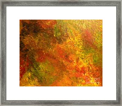 New Jersey Fall Framed Print