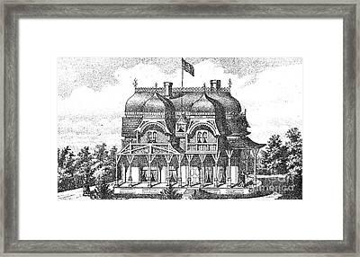 New Jersey: House, C1876 Framed Print by Granger
