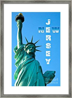 New Jersey Framed Print by Syed Aqueel